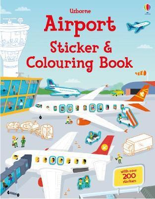 Airport Sticker and Colouring Book (First Colouring Books)