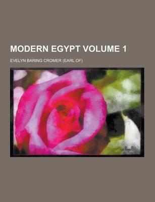 Modern Egypt Volume ...