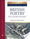 The Facts on File Companion to British Poetry