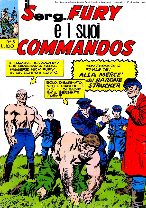 Il serg. Fury e i suoi commandos n. 5