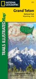 National Geographic Trails Illustrated Grand Teton National Park, Wyoming, USA
