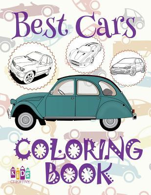 Best Cars Car Coloring Book for Boys Coloring Book Kid Coloring Books Mini Coloring Book