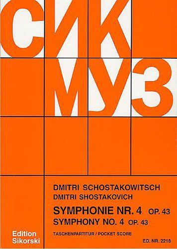 Symphonie nr.4 op.43