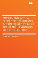Modern England: A Re...