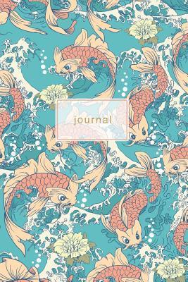 Japanese Koi Fish Design Notebook