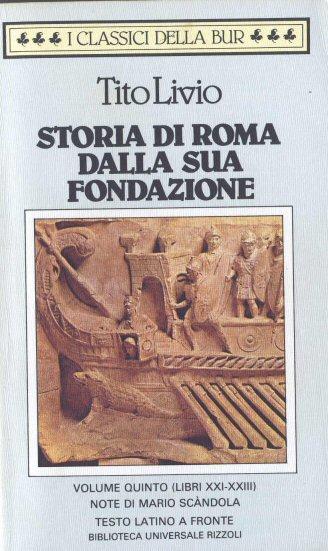 Storia di Roma dalla sua fondazione - Vol. 5