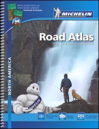 North America. Road atlas