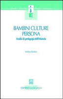 Bambini, culture, persona