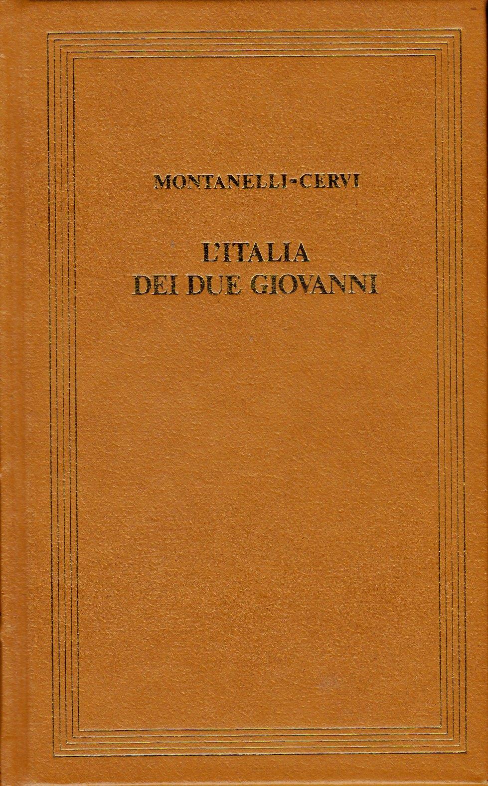 L'Italia dei due Giovanni