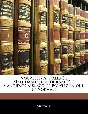 Nouvelles Annales de Mathmatiques