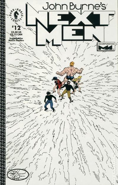 John Byrne's Next Men Vol.1 #12