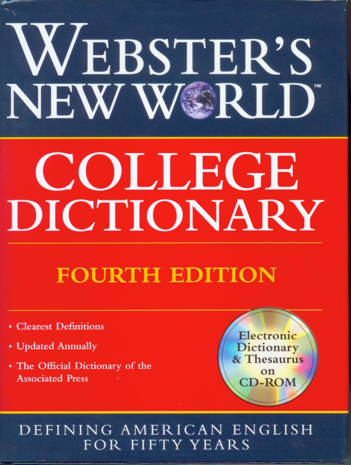 Webster's New World College Dictionary, Indexed Fourth Edition