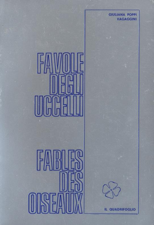 Favole degli uccelli - Fables des Oiseaux