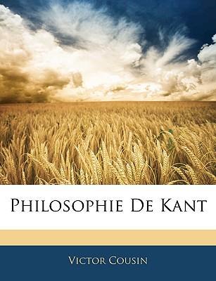 Philosophie De Kant