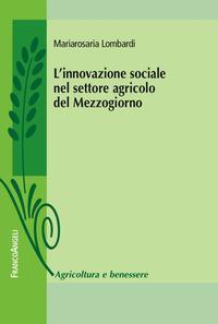 L'innovazione sociale nel settore agricolo del Mezzogiorno