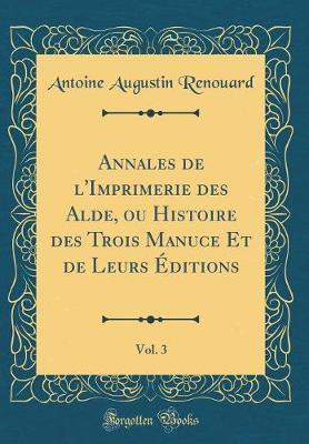 Annales de l'Imprime...
