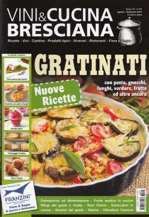 Vini & cucina bresciana: anno XV, n. 87, agosto-settembre 2019