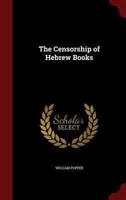 The Censorship of Hebrew Books
