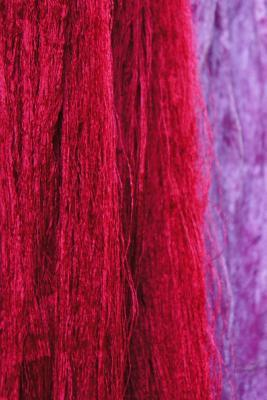 Freshly Dyed Wool Thread Journal