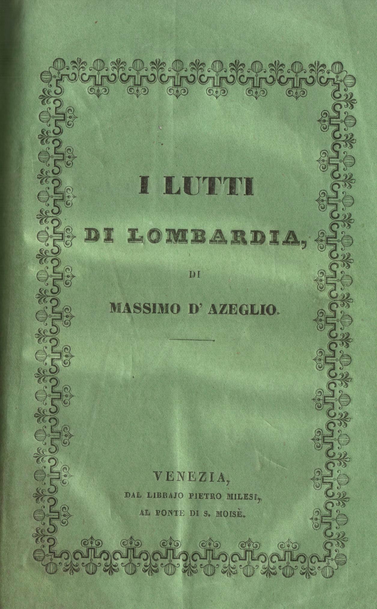 I lutti di Lombardia