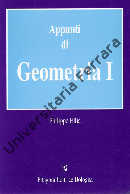 Appunti di geometria 1