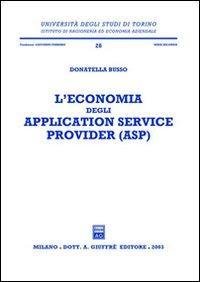 L'economia degli application service provider (ASP)