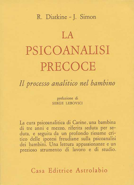 La psicoanalisi precoce