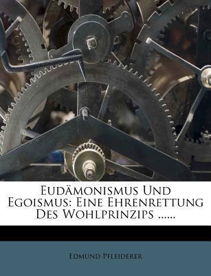 Eudamonismus Und Ego...