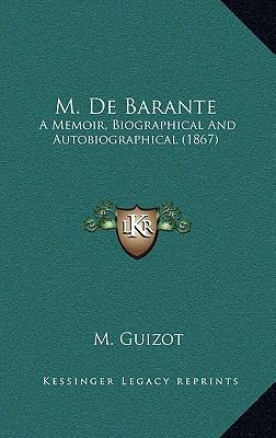 M. de Barante