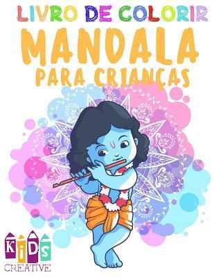 Livro De Colorir Mandala Para Crianças De 4 a 6 Anos De Idade ~ Mandalas Fáceis