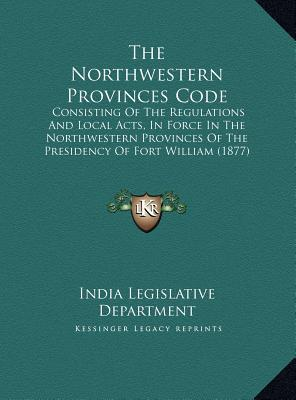 The Northwestern Provinces Code