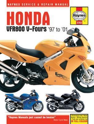 Haynes Honda Vfr800 V-fours '97-'01 Repair Manual