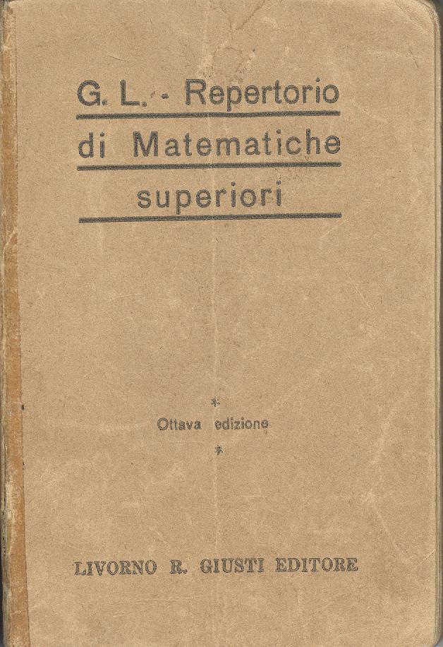 Repertorio di Matematiche Superiori