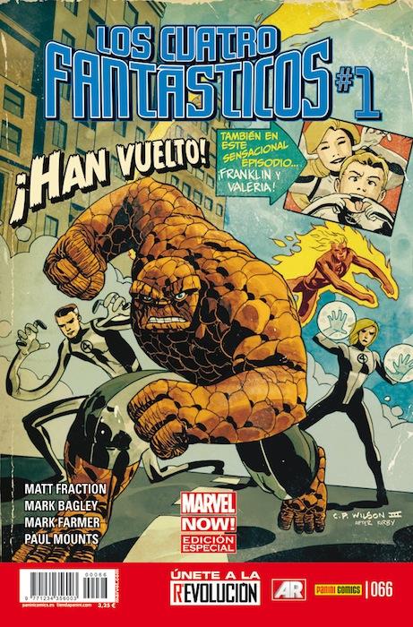 Los Cuatro Fantásticos Vol.7 #66