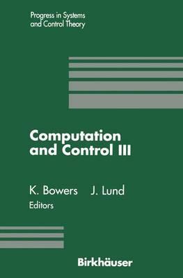 Computation and Control III