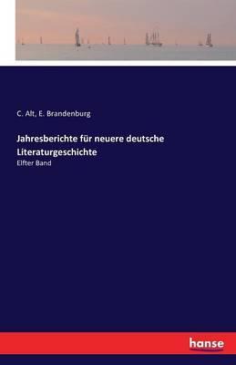 Jahresberichte für neuere deutsche Literaturgeschichte