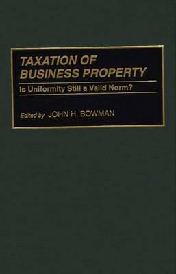 Taxation of Business...