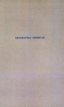 Geographia Americae