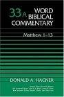 Word Biblical Commentary Vol. 33a, Matthew 1-13
