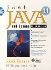Just Java and Beyond 1.1