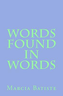 Words Found in Words