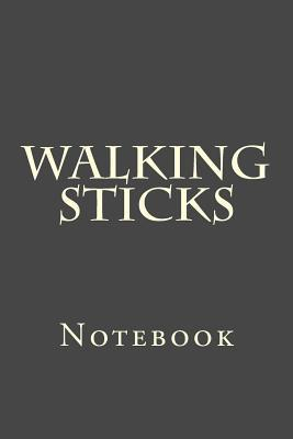 Walking Sticks Notebook