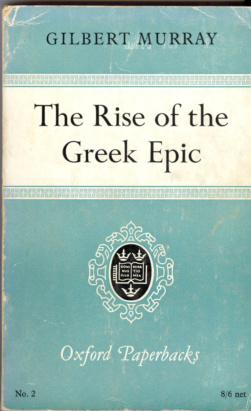 The rise of the greek epic