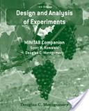 Design and Analysis of Experiments, Minitab Manual