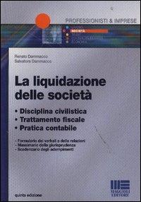La liquidazione delle società