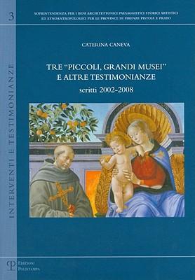 Tre «piccoli, grandi musei» e altre testimonianze. Scritti (2002-2008)