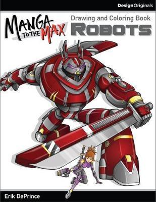 Robots Adult Coloring Book