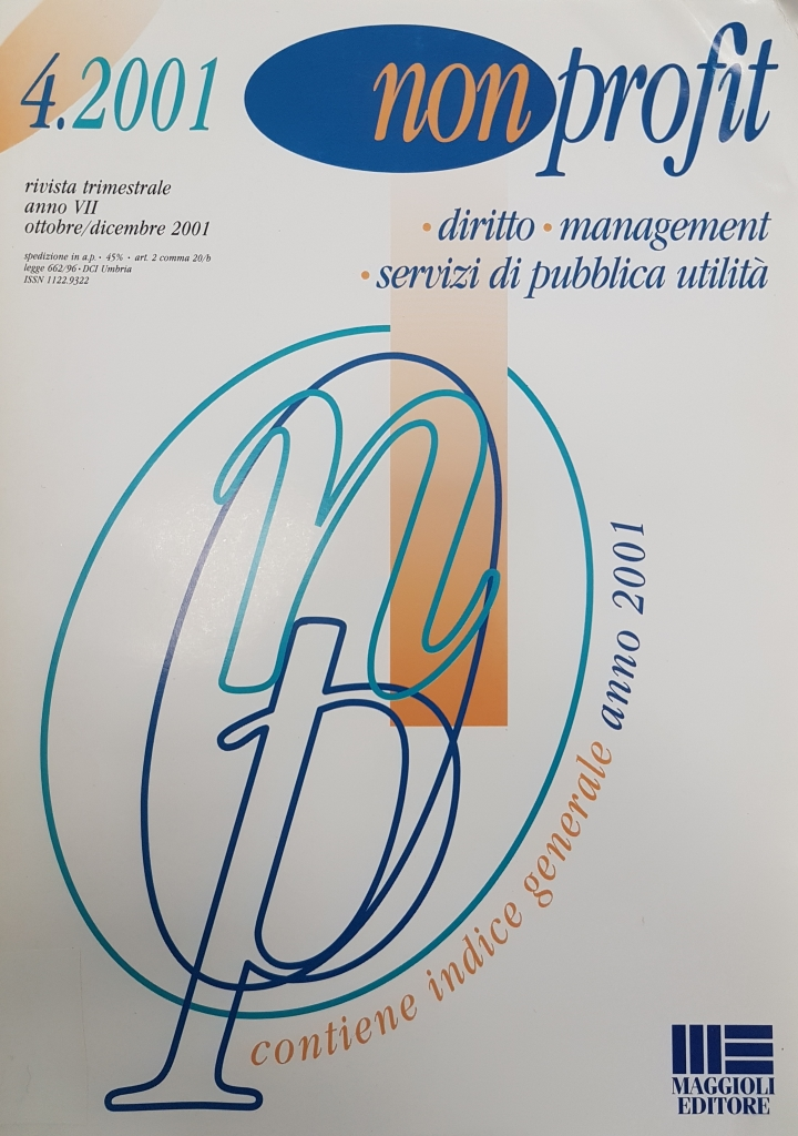 Non profit n. 4 - 2011