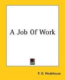 A Job of Work