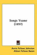 Songs Ysame (1897)